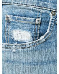 Rag & Bone | Blue Rb15x - Hickory for Men | Lyst