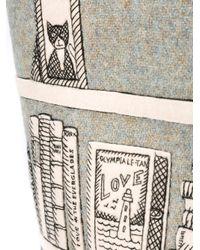 Olympia Le-Tan - Multicolor Printed Shopper Tote - Lyst