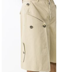 Loewe - Natural Trench Shorts for Men - Lyst
