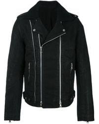 Balmain   Multicolor Blouson Biker Jacket for Men   Lyst