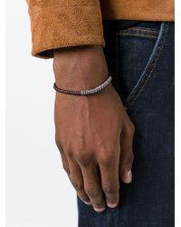 M. Cohen - Brown Beaded Bracelet for Men - Lyst