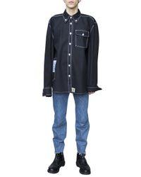 Vetements | Black X Carhartt Shirt for Men | Lyst