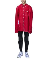 Vetements - Red X Carhartt Shirt for Men - Lyst