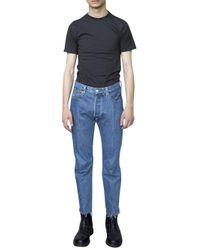 Vetements | Blue X Hanes T-shirt for Men | Lyst