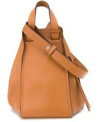 Loewe | Brown Zipped Cross Body Bag | Lyst