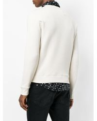 Saint Laurent - Multicolor Waiting From Sunset Sweatshirt for Men - Lyst
