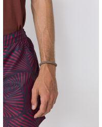 M. Cohen - Brown Woven Bracelet for Men - Lyst