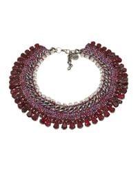 Venessa Arizaga - Metallic 'sangria Sunrise' Necklace - Lyst