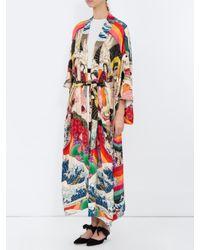 Chufy - Multicolor Trippin Long Kimono - Lyst