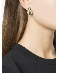 Ileana Makri - Multicolor Diamond Art Deco Style Earrings - Lyst