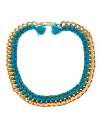 Aurelie Bidermann | Blue 'do Brasil' Necklace | Lyst