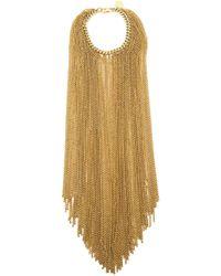 Nina Ricci | Metallic Fringed Chain Bracelet | Lyst