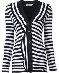 Sonia Rykiel - Multicolor Striped Cardigan - Lyst