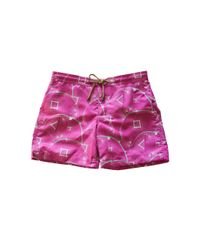 Thorsun - Pink Sunburst Print Titan Swim Shorts for Men - Lyst