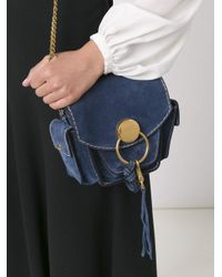 Chloé - Blue Jodie Suede Shoulder Bag - Lyst