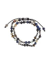 M. Cohen - Multicolor 'two-layer Templar Gems' Bracelet for Men - Lyst