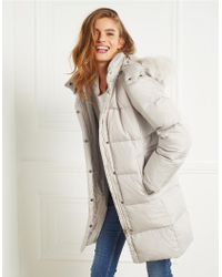The White Company - Multicolor Padded Coat - Lyst