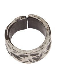 Henson - Multicolor Carved Split Ring - Lyst