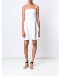 DSquared² - White Tube Dress - Lyst