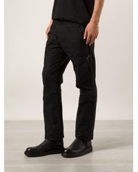Y. Project - Black 'latch' Trousers for Men - Lyst