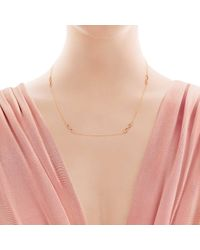 """Tiffany & Co - Pink Tiffany Infinity Endless Necklace In 18k Rose Gold - 18"""" - Lyst"""