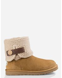 Ugg | Brown Shaina Womens Boots | Lyst