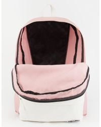 Vans - Pink 2 Tone Realm Backpack - Lyst