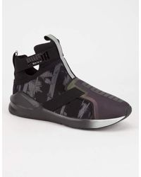 PUMA - Black Fierce Strap Swan Womens Shoes - Lyst