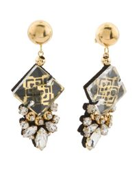 Tj Maxx - Metallic Handmade 18k Gold Plated Bora Statement Earrings - Lyst
