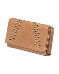 Tj Maxx - Brown Leather Pomona Flap Zip Wallet - Lyst