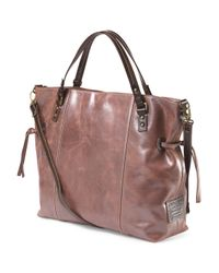 Tj Maxx - Pink Made In Italy Leather Large East West Tote - Lyst