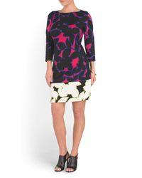 Tj Maxx - Multicolor Printed Sheath Dress - Lyst