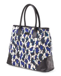 Tj Maxx - Blue Made In Italy Large Canvas Tote - Lyst