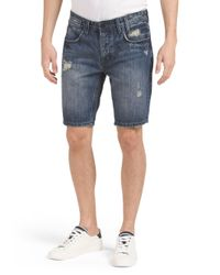 Tj Maxx - Blue Straight Denim Short for Men - Lyst