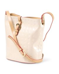 Tj Maxx - Natural Made In Italy Patent Leather Bucket Handbag - Lyst