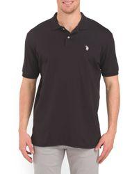Tj Maxx - Black Short Sleeve Polo for Men - Lyst