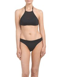Tj Maxx - Black High Neck Sport Two-piece Swim Set - Lyst