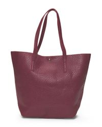 Tj Maxx - Purple Tote With Bar Hardware - Lyst