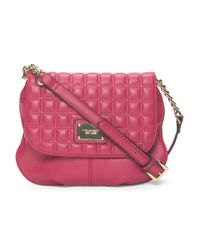 Tj Maxx - Pink Leather Lady Q Flap Crossbody - Lyst