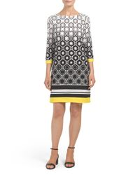 Tj Maxx - Multicolor Printed Matte Dress - Lyst