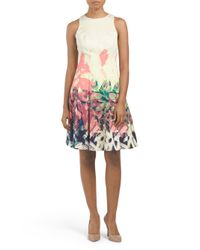 Tj Maxx - Multicolor Painted Bottom Dress - Lyst