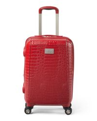 Tj Maxx - Red 21in Reptile Hardside Spinner Carry-on - Lyst