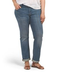 Tj Maxx - Blue Plus Georgia Straight Jean - Lyst