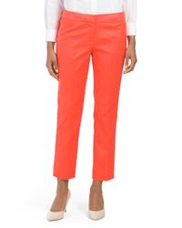Tj Maxx - Multicolor Double Weave Crop Pant - Lyst