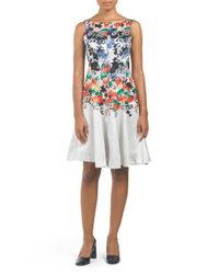 Tj Maxx - Multicolor Floral Print Dress - Lyst