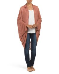 Tj Maxx - Multicolor Open Lattice Back Cardigan - Lyst