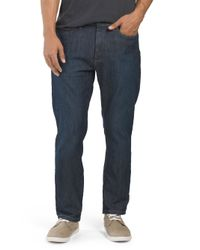 Tj Maxx - Blue Straight Leg Stretch Jean for Men - Lyst
