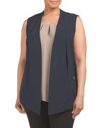 Tj Maxx - Blue Plus Yoko Vest - Lyst