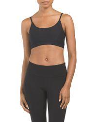 Tj Maxx - Black Weave Back Short Bra - Lyst