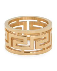 Tj Maxx - Metallic Men's Greek Key Gold Tone Stainless Steel Band for Men - Lyst